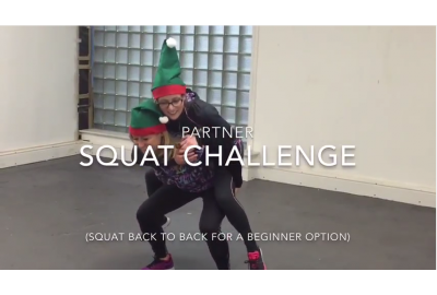 Get fit for Christmas. Elf Style.