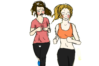 Running Without A Sports Bra