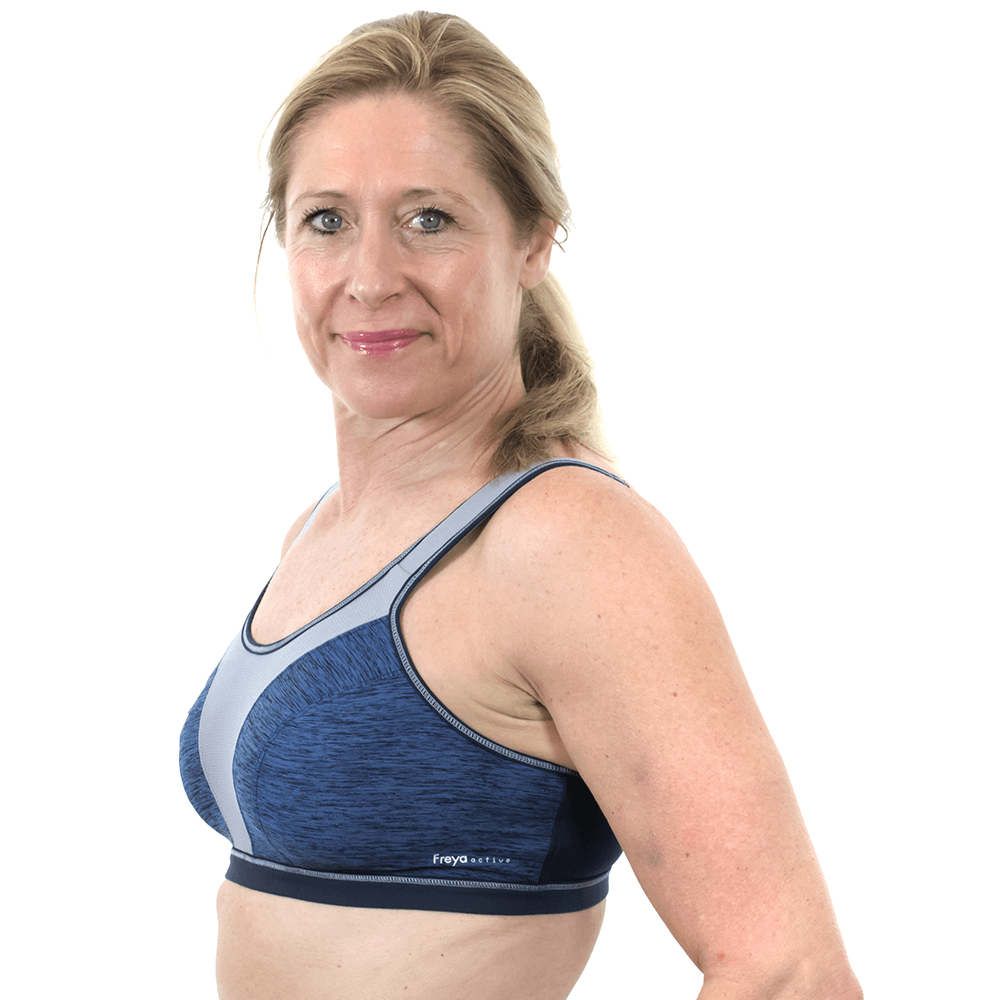 Freya Active Force Crop Top 4000 High Impact Non Wired Soft Cup Sports Bra